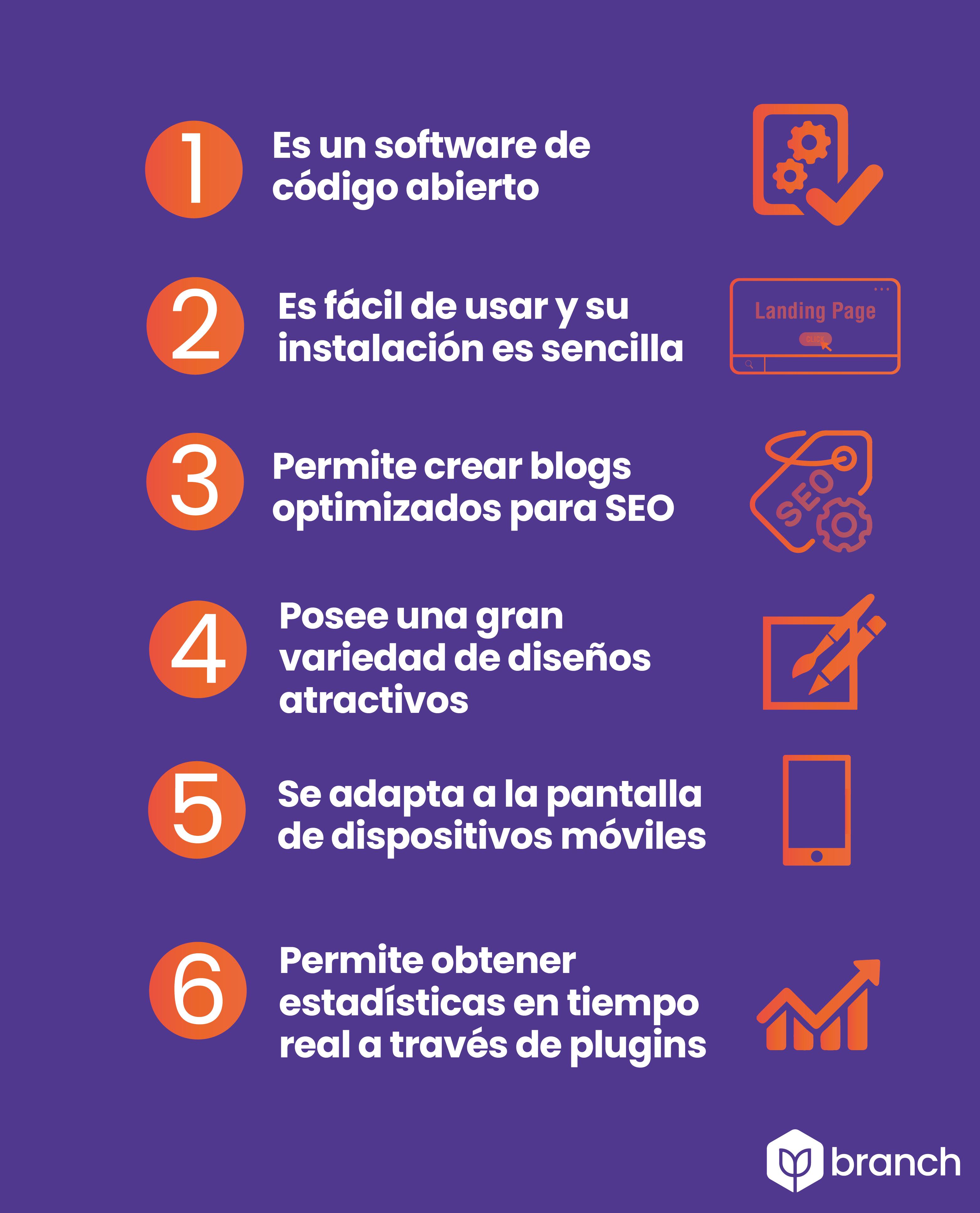 infografia-6-ventajas-de-usar-wordpress