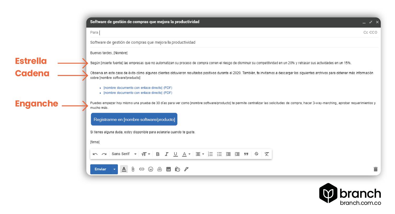 ejemplo-de-correo-con-tenica-de-email-frio-estrella-cadena-gancho