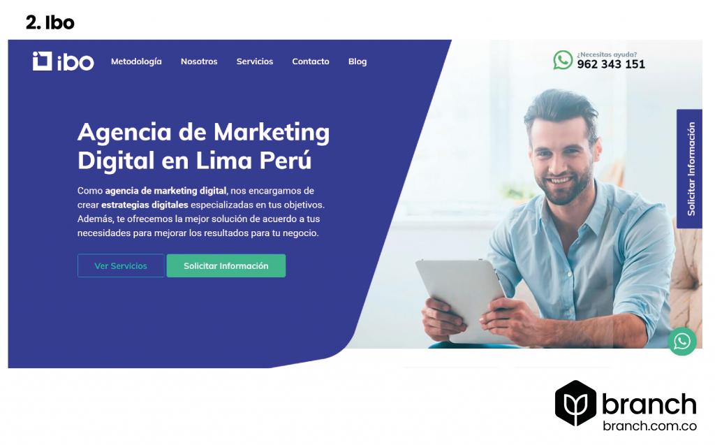 top agencias de marketing Perú 2