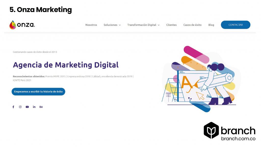 top agencias de marketing Perú 5