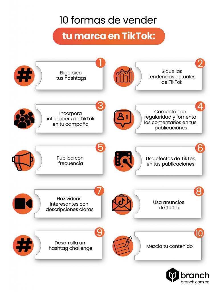 infografia-10-formas-de-vender-tu-marca-en-TikTok