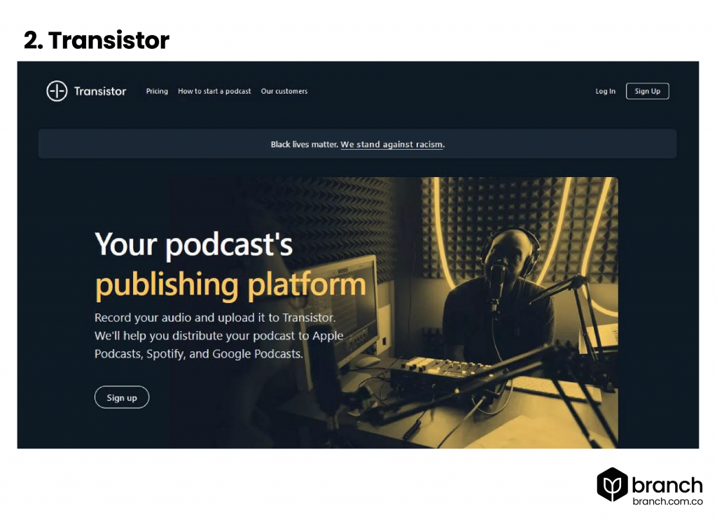 Transistor-top-10-de-plataformas-de-alojamiento-para-podcasts-en-2021